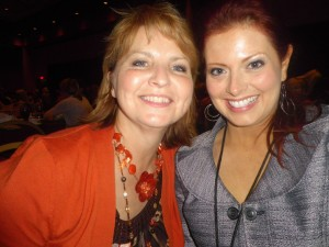 Catching a moment of fun with radio personality Luann Prater (encouragementcafe.com)